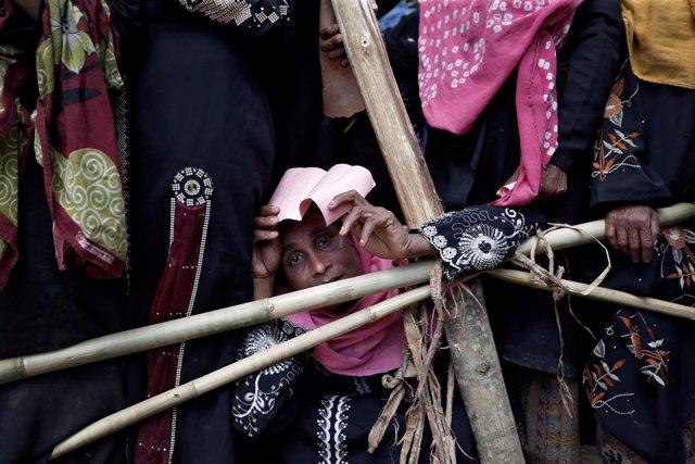 Mujer Rohingya en Bazar de Cox (Bangladesh)
