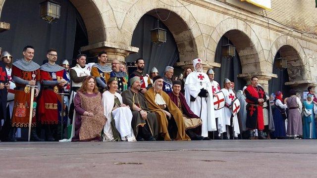 Recreaciones Históricas en Aragón.
