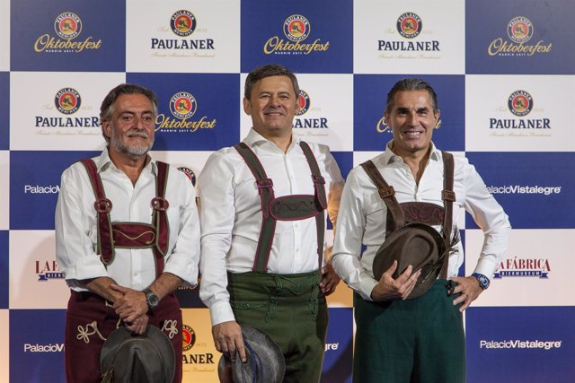 Pepu Hernández, Miki Nadal y Sergio Scariolo