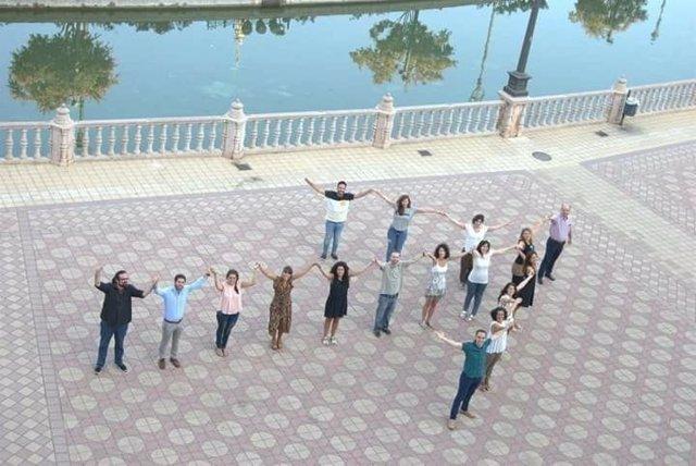 Participantes en Lanzadera de Empleo en Sevilla