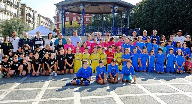 Inicio de la Semana del Deporte de Santander