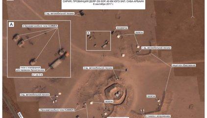 Rusia asegura que las fuerzas de EEUU avanzan sin obstáculo por zonas bajo control del Estado Islámico en Siria