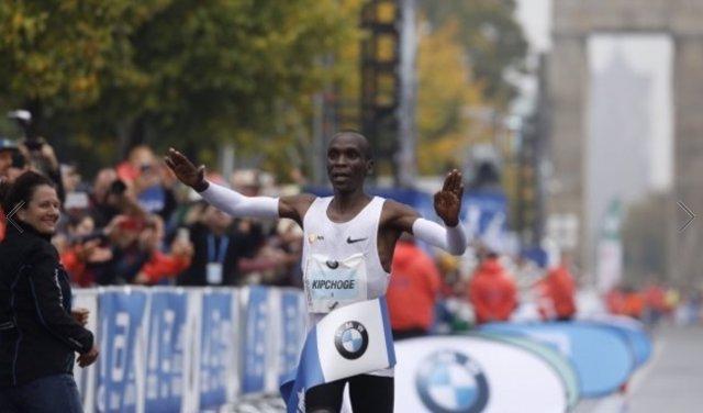 Eliud Kipchoge maratón Berlín