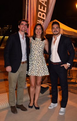 Jaime González Castaño, Alhambra Nievas y Damián Quintero Semana Europea Deporte