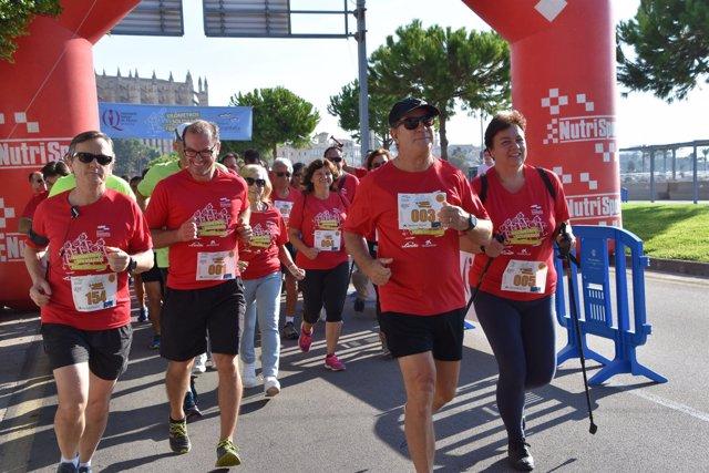 Carrera Kilómetros Solidarios contra la Fibrosis Quística