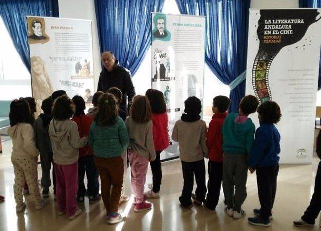 Exposición dentro del programa AulaDcine