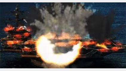 Corea del Norte publica un vídeo en el que simula la destrucción de bombarderos y portaaviones de EEUU