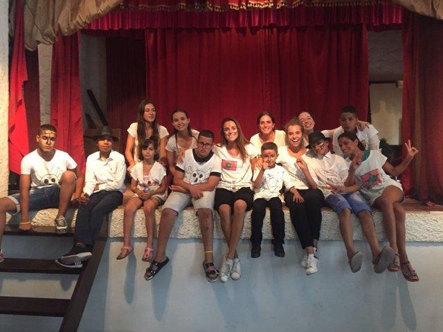 Alumnas participantes en el programa de la Fundación Dari de Tetuán