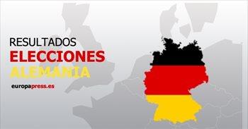 Resultados elecciones Alemania 2017