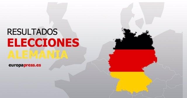 Resultados elecciones alemania