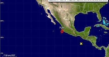 La tormenta tropical Pilar avanza por el Pacífico mexicano