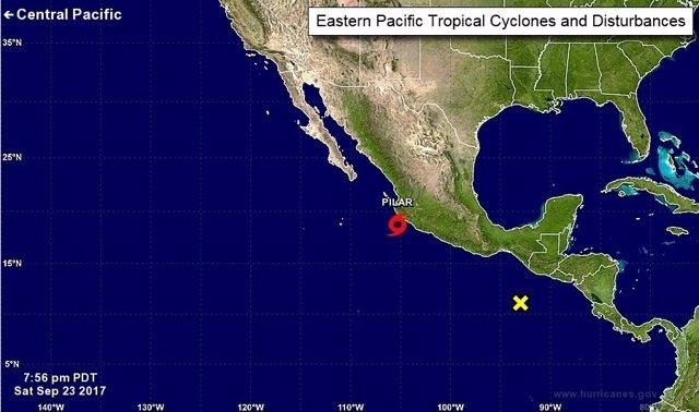Tormenta tropical 'Pilar'