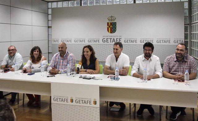 Equipo de la corporación de Getafe (Madrid)