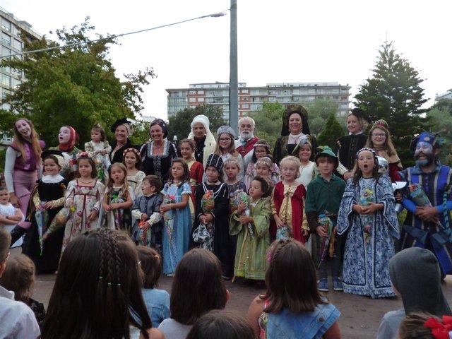 Concurso infantil de disfraces del Último Desembarco de Carlos V