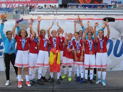 Quinto puesto para las españolas en el Mundial alevín