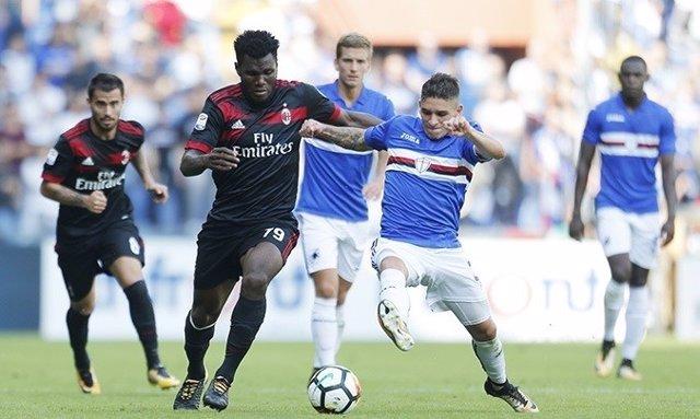 El Milan pierde con la Sampdoria