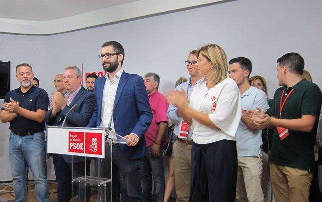 El candidato a la Secretaria General del PSRM, Francisco Lucas