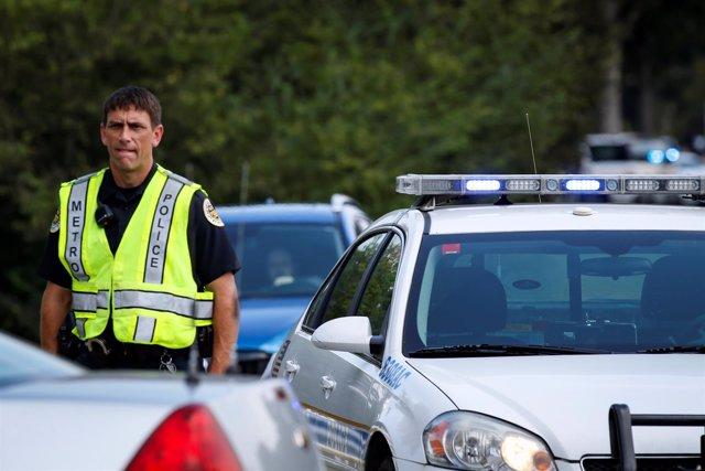 Policía en Nashville, Tennessee
