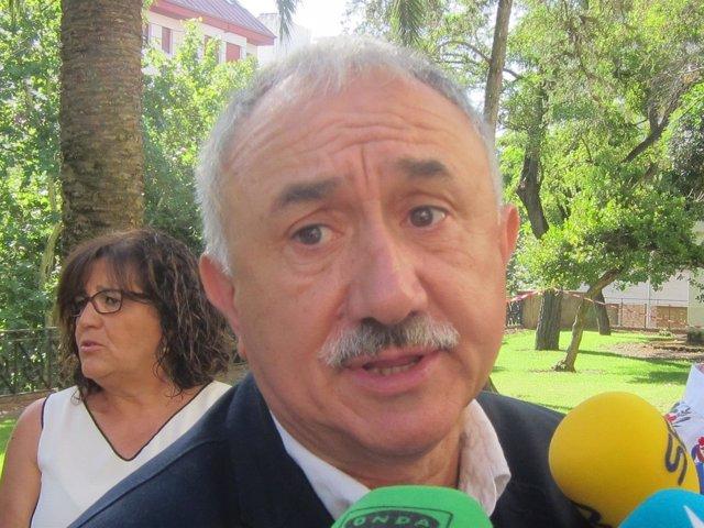 Josep Álvarez, secretario general de UGT