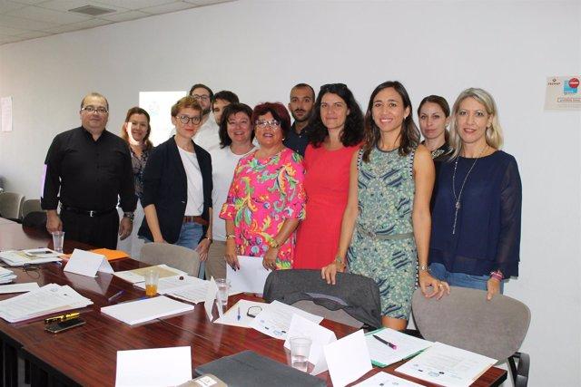 Reunión proyecto Co-created