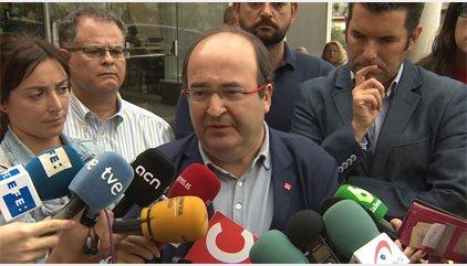 """Iceta veu """"incomprensible"""" la querella de la Fiscalia contra els organitzadors de les mobilitzacions"""