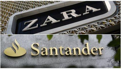 Zara y Santander suben posiciones en el ranking de las 100 mejores marcas del mundo de Interbrand