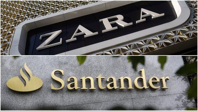 Montaje Zara y Santander