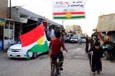 """Turquia recalca que el referèndum d'independència al Kurdistan iraquià """"és nul i invàlid"""" (REUTERS / THAIER AL-SUDANI)"""