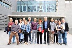 Les declaracions per la querella d'ERC contra l'afusellament de Companys i 47 alcaldes republicans arriben a Manresa (ACN)