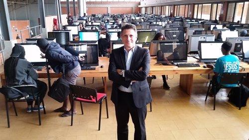 Matías Matías, responsable global de HP Educación
