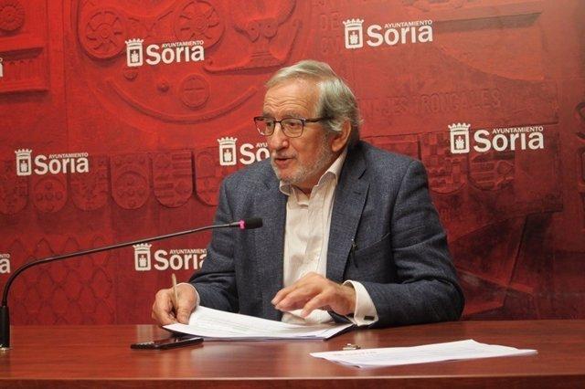Jesús Bárez, concejal de Cultura Ayuntamiento Soria.