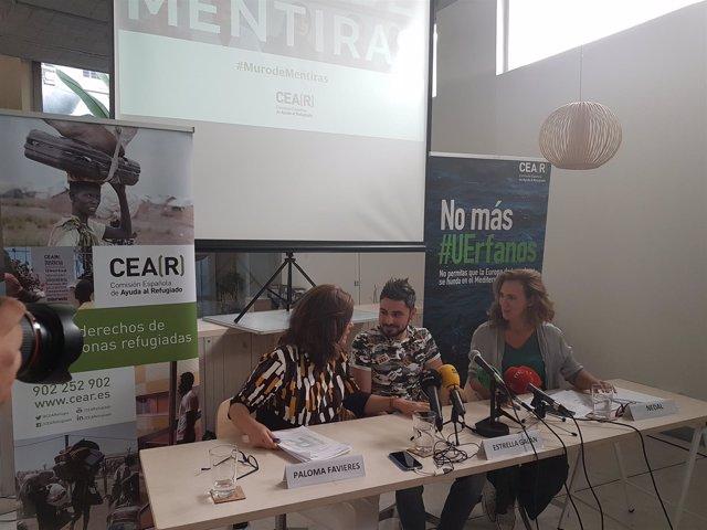Rueda de prensa de CEAR ante el fin del plazo de acogida de refugiados