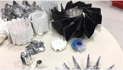 El origami inspira a la NASA para afrontar un desafío matemático