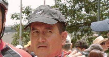 El exciclista colombiano Lucho Herrera padece cáncer de piel