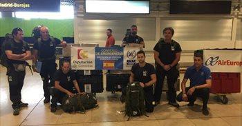Bomberos cordobeses (España) viajan a República Dominicana para ayudar a los damnificados por el huracán 'María'