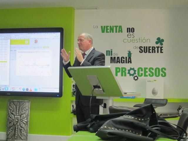 Jose Luis Jimeno, presidente ejecutivo de Notegés