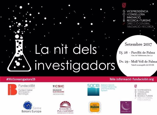 Cartel de la noche de los investigadores