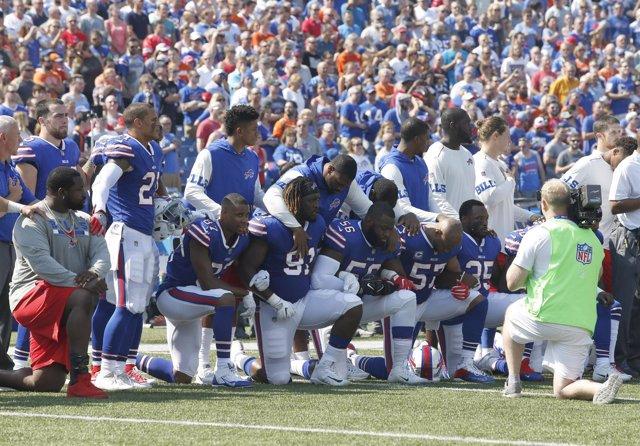Protesta de la NFL contra la protesta policial