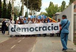AMPLIACIÓ:L'alcaldessa de Montcada s'acull al dret de no declarar i acusa l'Estat