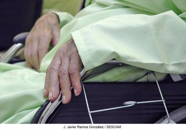 Enfermo de Parkinson