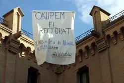Estudiants de la UdL fan una tancada indefinida a favor del referèndum de l'1-O (ACN)