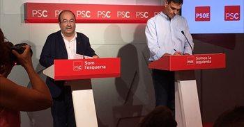 El PSOE cree que el independentismo busca proclamar la independencia el 6 de octubre, emulando a Companys