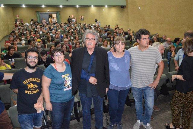 Joan Tardà ha participado en un acto en la Universitat de Lleida