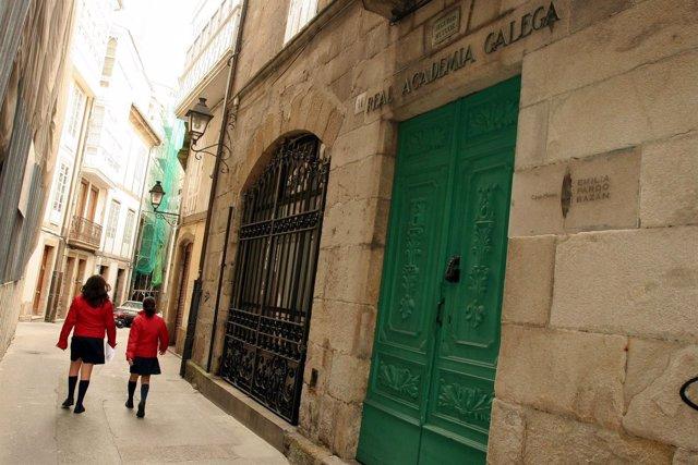 Sede de la Academia Galega da Lingua