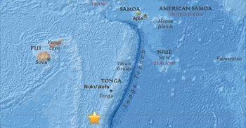 Registrado un terremoto de magnitud 6,4 al sur de Fiyi y Tonga