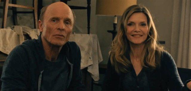 Michelle Pfeiffer y Ed Harris