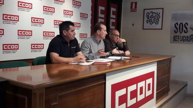 Valladolid.- Análisis de CCOO del modelo forestal