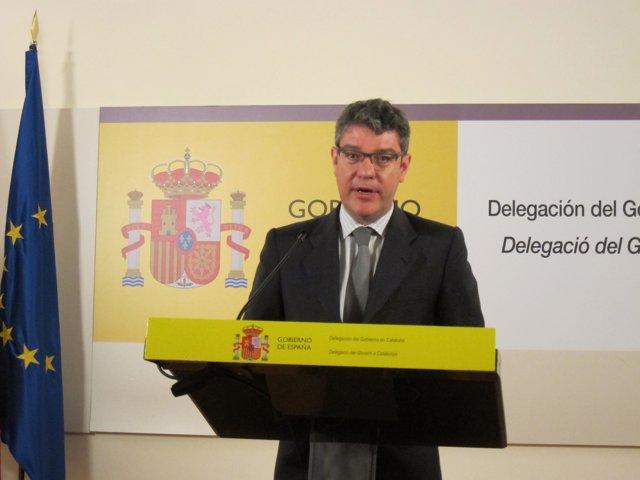 El ministro Álvaro Nadal