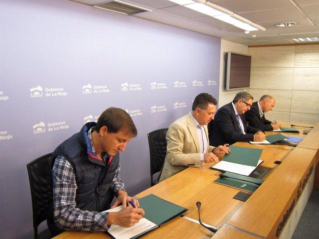 Firmas acuerdos rehabilitación vivienda alquiler