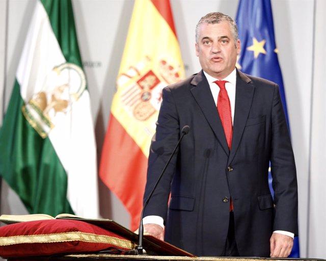 Javier Carnero, nuevo consejero de Empleo de la Junta de Andalucía